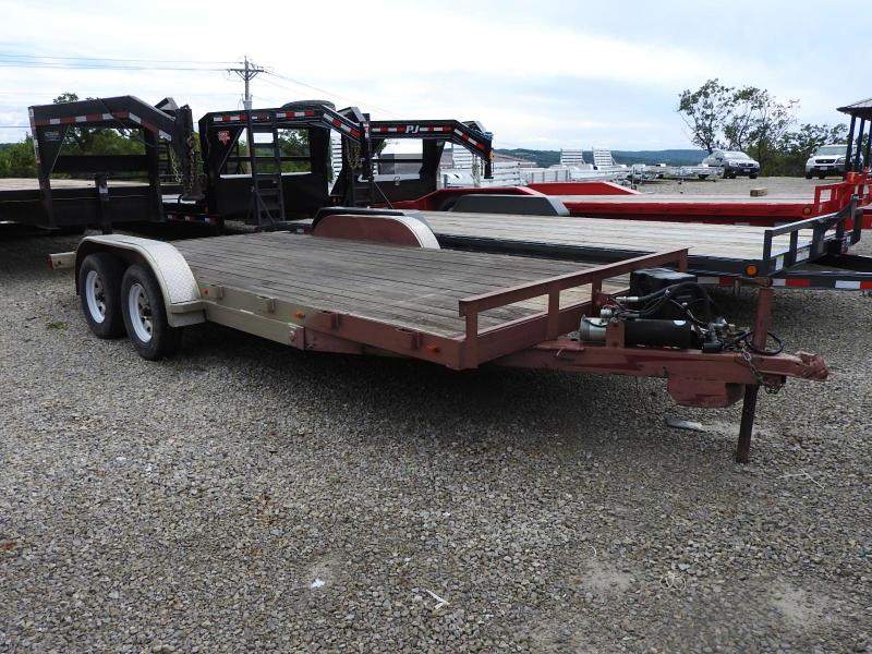 2009 Homemade Tilt Equipment Trailer