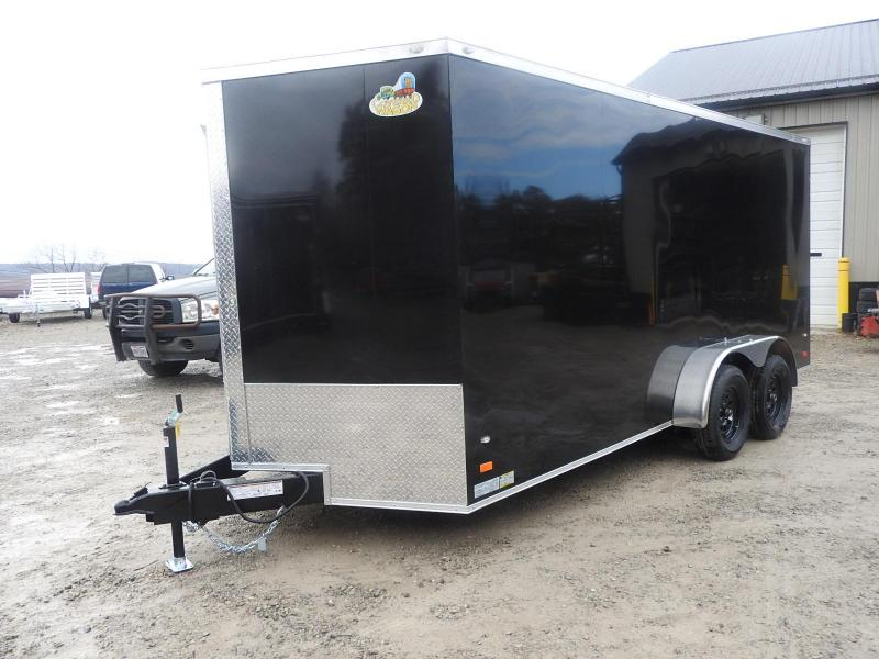 2020 Covered Wagon Trailers CW 7x16 TA Enclosed Cargo Trailer