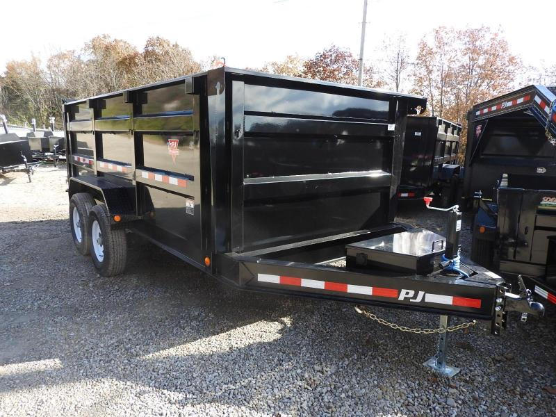 "2020 PJ DM 83"" x 14'  Dump Trailer w/ Tarp Kit"