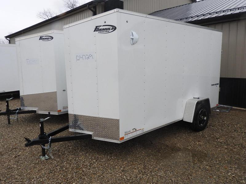 "2021 Formula Traverse 6x12 w/ 6"" Extra Height Enclosed Cargo Trailer"