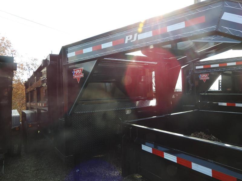 """2020 PJ DM 83"""" x 14'  GN Dump Trailer"""