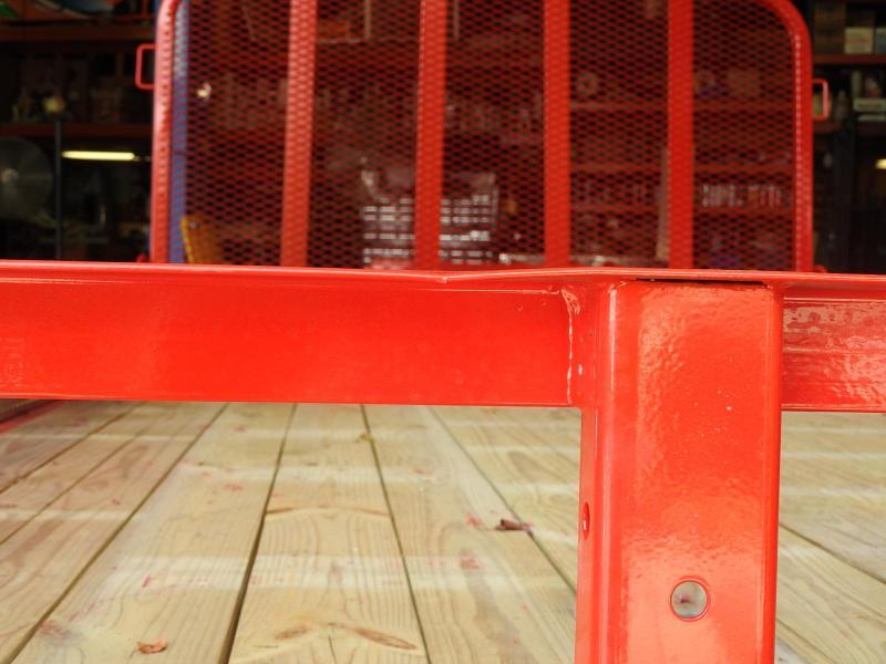 2020 PJ U8 12' x 83' Utility Trailer Ramp Gate S&D