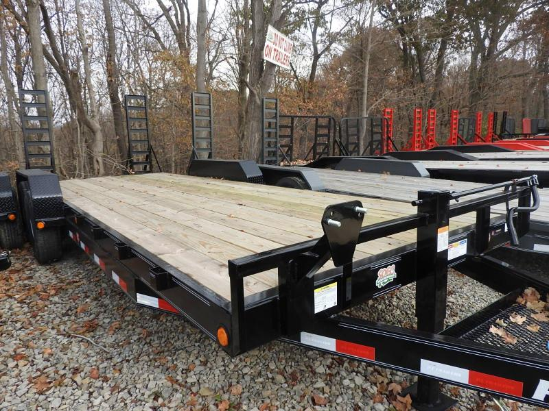 2020 PJ CC 83 x 22'  Equipment Trailer