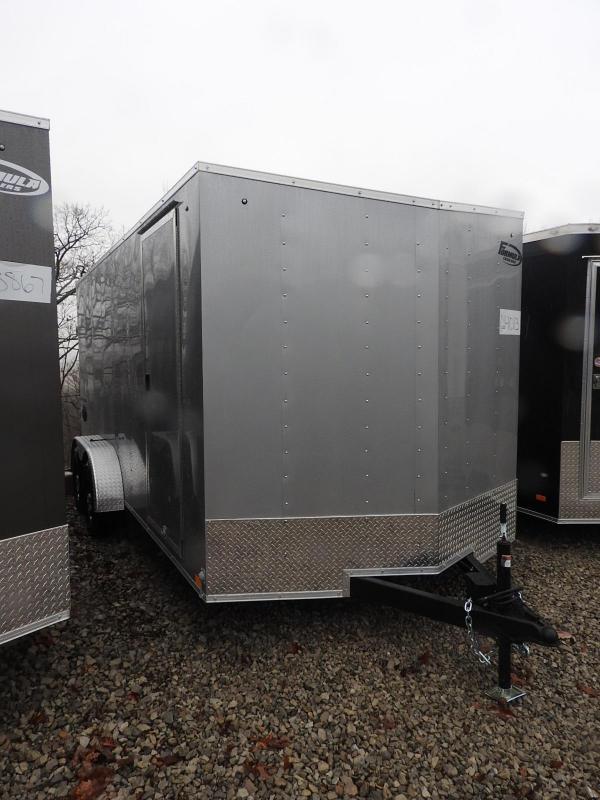 "2021 Formula Traverse 7 x 16 w/ 6"" Extra Height Enclosed Cargo Trailer"
