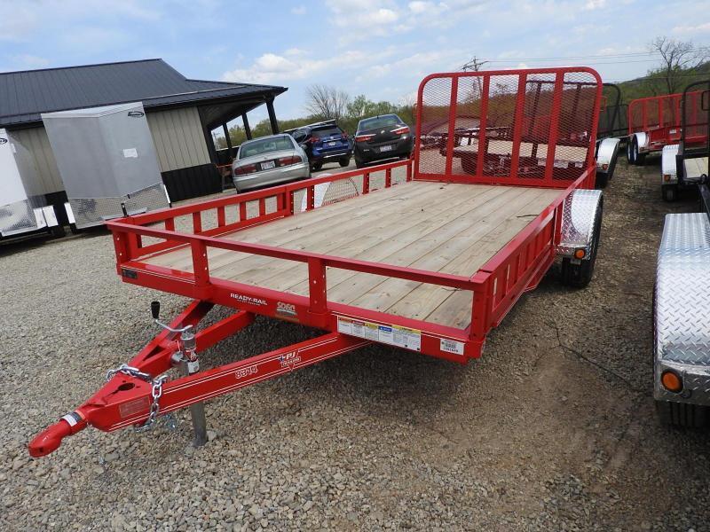 2020 PJ U8 83 x 14  Dovetail  ATV Utility Trailer