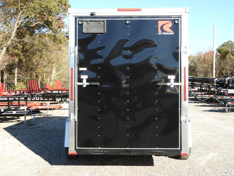 "2020 RC Trailers RDLX 6 x 12 w/ 6"" Extra Height Enclosed Cargo Trailer"