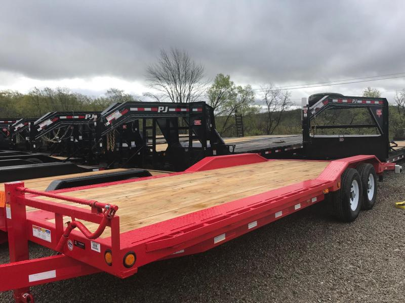 "2020 PJ B6 102""x24'  Car / Racing Trailer S&D"