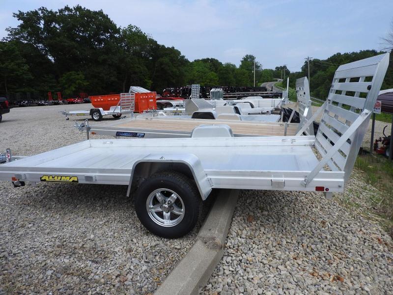 2020 Aluma 6812H Utility Trailer S&D
