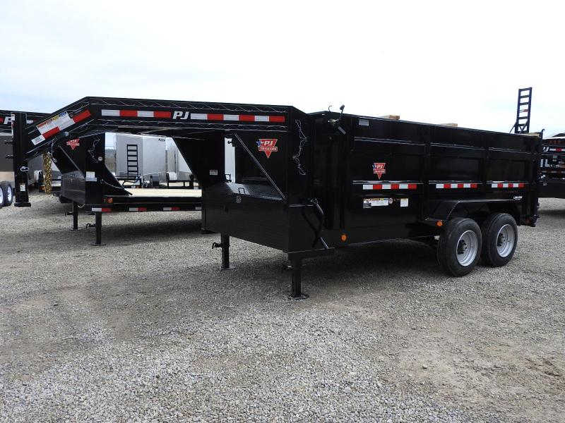 "2020 PJ DM 83"" x 14'  Dump Trailer w/ Tarp Kit 17.5 Tires"