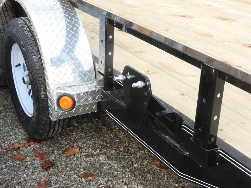 "2020 PJ UL 16' x 83"" Utility Trailer - One Brake Axle"