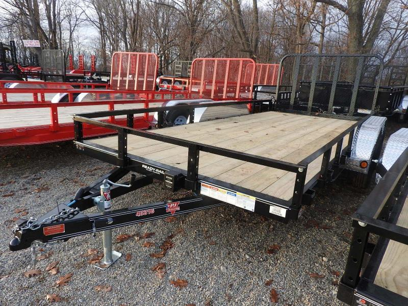 "2020 PJ UL 16' x 83"" Utility Trailer - One Brake Axle"