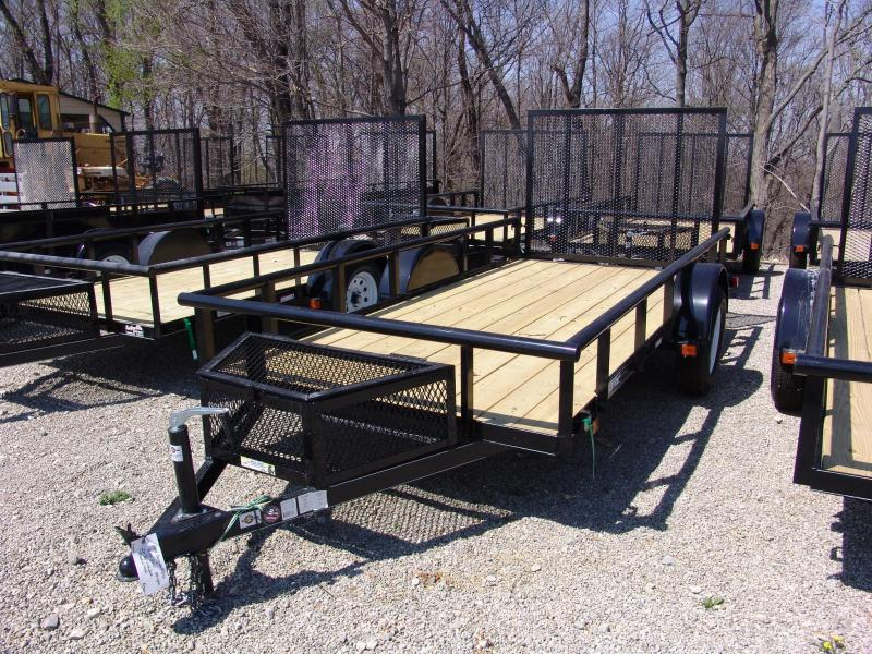 2020 Carry-On 5.5 X 12 GWPTLED Utility Trailer