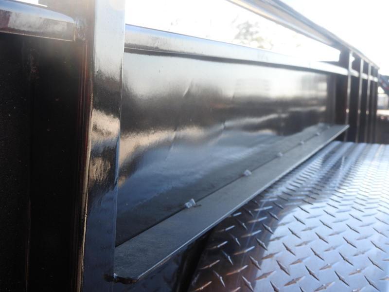 "2020 PJ UL 83"" x 20' Solid Side 9899 GVW Utility Trailer S&D"