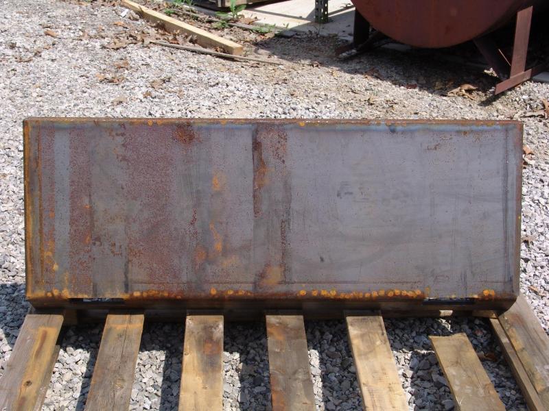 """SOEC 3/8"""" Universal Skid Steer Mounting Plate"""
