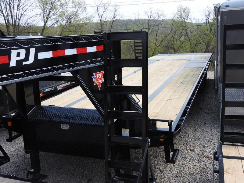 "2019 PJ LY 34' x 102""  w/ 10' Hyd. Dove Equipment Trailer"