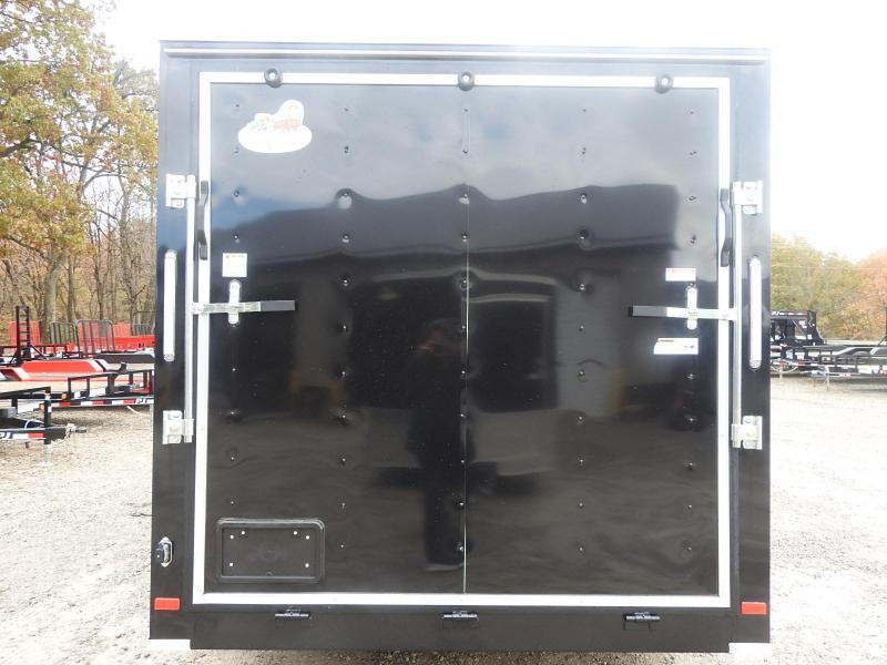 2020 Covered Wagon Trailers CW 7x16 TA Enclosed Cargo Trailer S&D