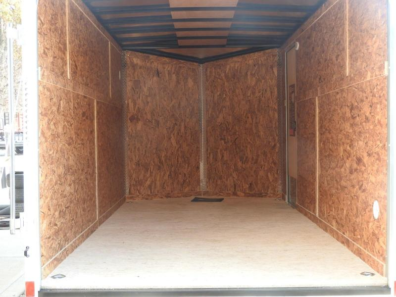 "2020 Formula Traverse 7 x 16 w/ 6"" Extra Height Enclosed Cargo Trailer"