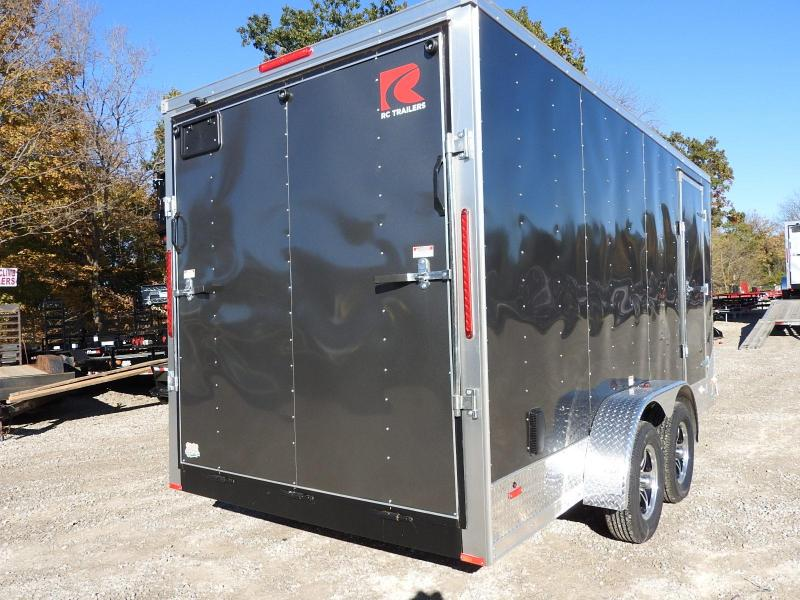 2020 RC Trailers RDLX 7 x 16 Enclosed Cargo Trailer