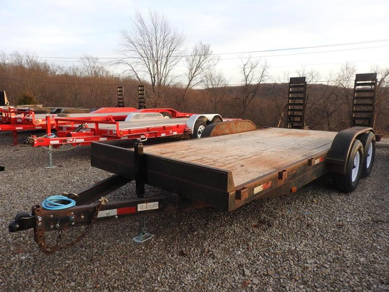 "2005 Trail-Rite 82"" x 18' Equipment Trailer"