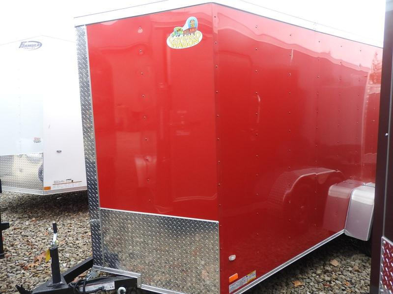 2020 Covered Wagon Trailers CW 6x12 SA Enclosed Cargo Trailer S&D