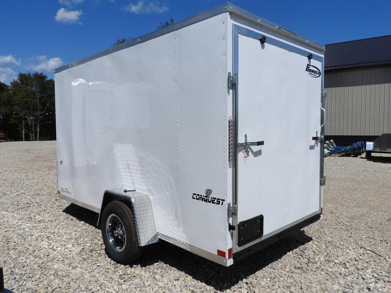 """2020 Formula Trailers Conquest 6x12 6"""" Extra Height Enclosed Cargo Trailer"""