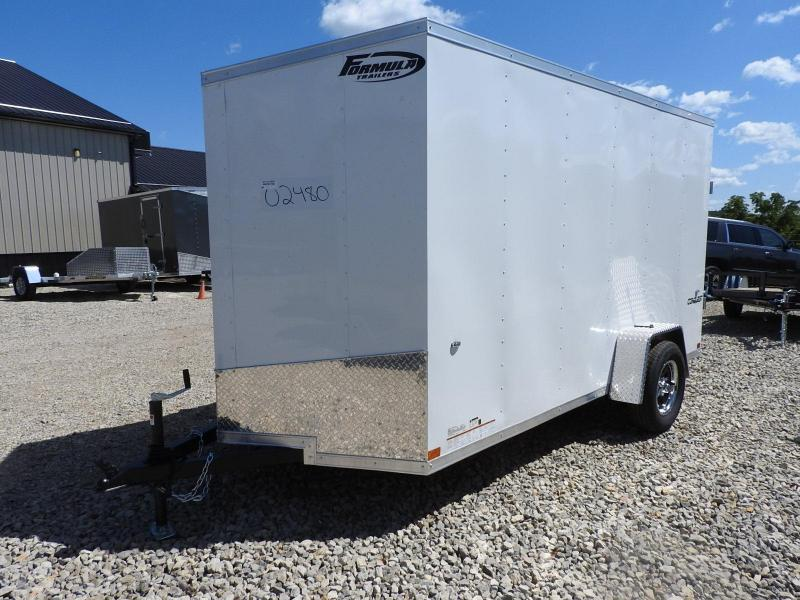 "2020 Formula Trailers Conquest 6x12 6"" Extra Height Enclosed Cargo Trailer"