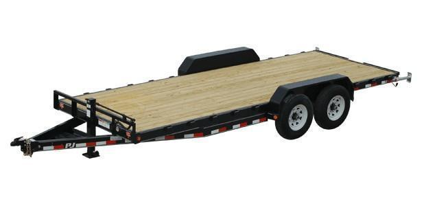 2020 PJ CC 83 x 20 Equipment Trailer