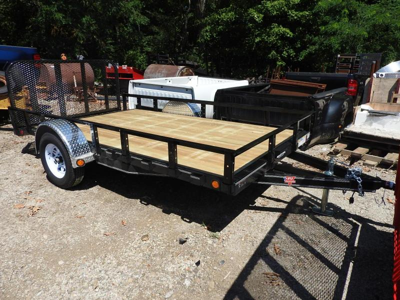 2020 PJ Trailers U7 77 x 12 w/ 2' Dovetail Utility Trailer S&D