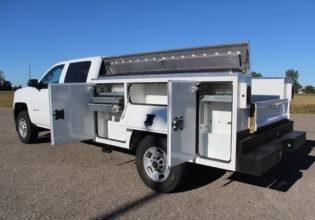 "CM SB 110""/94""  Single Wheel Truck Bed"