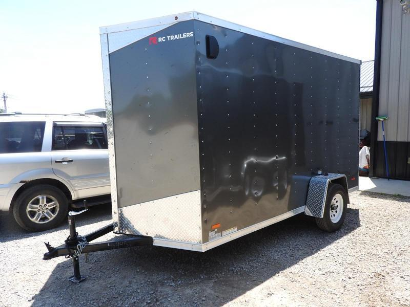 2020 RC RWT 6x12 w/ 12in. Extra Height Enclosed Cargo Trailer
