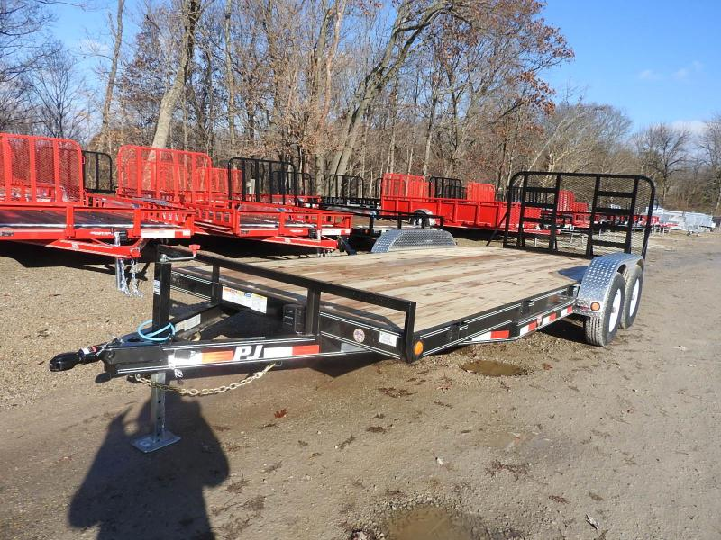 "2019 PJ CE 83"" x 20'  HD Ramp Gate Equipment Trailer"