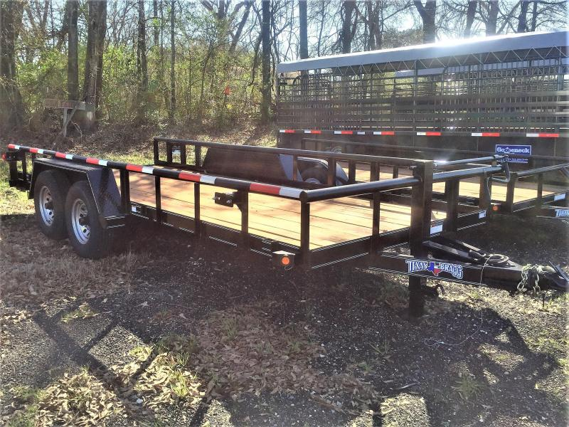 "2017 Texas Bragg Trailers 18'X83"" Big Pipe Top Tandem Axle"