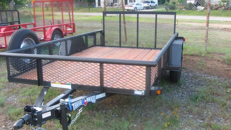 2018 Texas Bragg Trailers 6 X 12 (77 wide) Pipe Top Utility Trailer