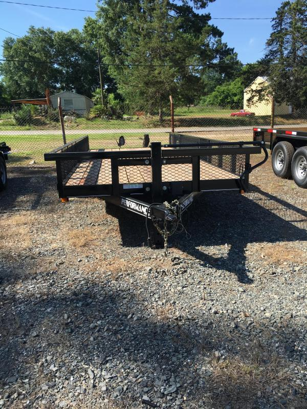 2019 Performance Trailers MP7718 Utility Trailer