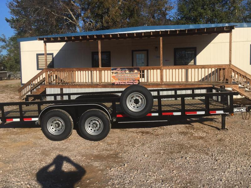 2020 Parker Trailers HP7720 Utility Trailer