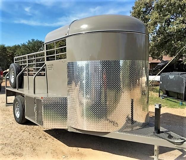 2016 Other 14x6 Half-Top Bumper Pull Catch Trailer