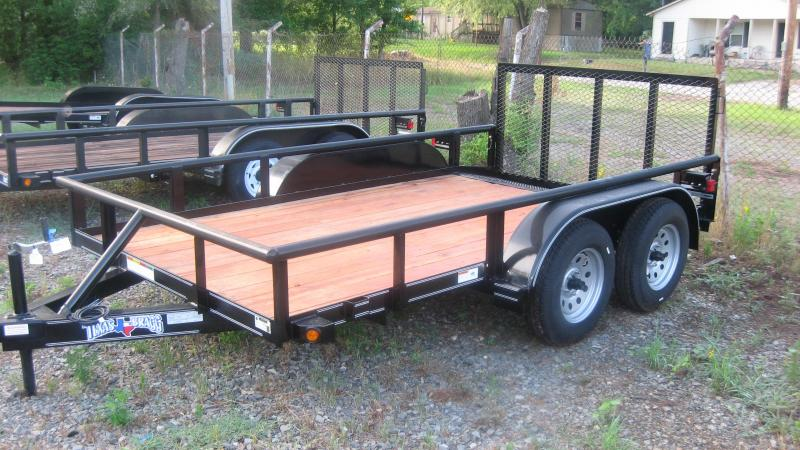 2018 Texas Bragg Trailers 6 X 12 PIPE TOP Utility Trailer