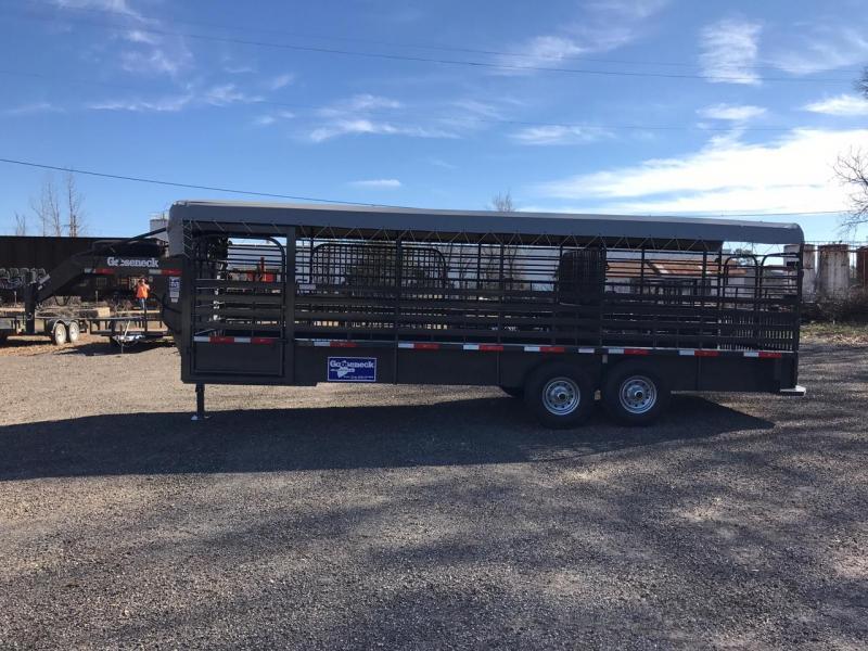 2017 Gooseneck 172468 Livestock Trailer