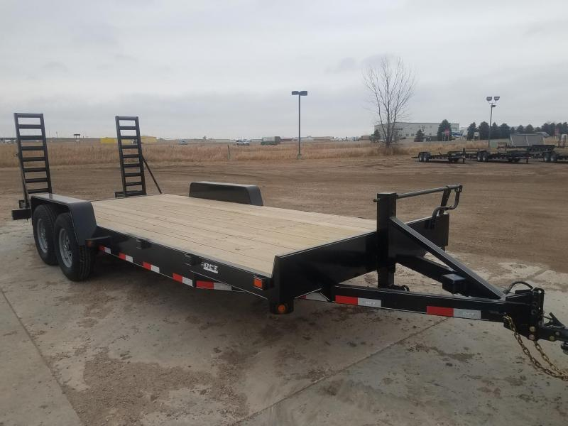 2020 DCT 20HD-14BT Equipment Trailer