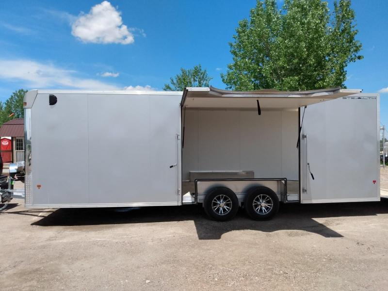 2018 Alcom-Stealth 8.5 x 24 Enclosed Cargo Trailer