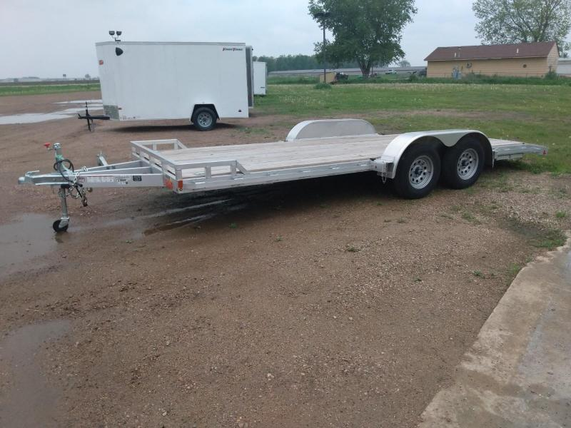 2019 Alcom-Stealth 20' Aluminum Car / Racing Trailer