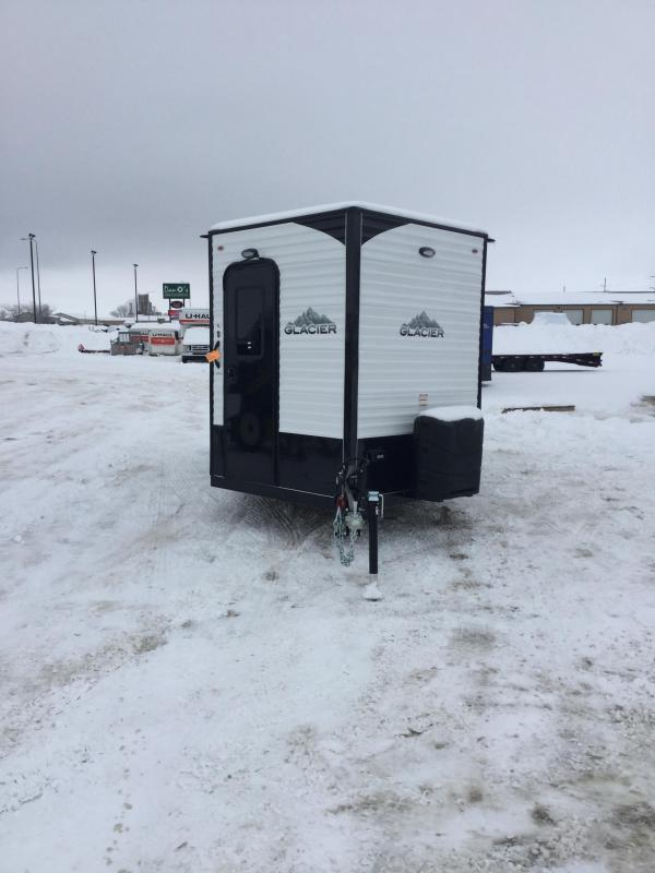 2020 Glacier 164RD Ice/Fish House Trailer