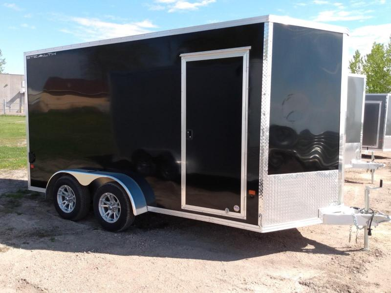2020 Alcom-Stealth 7 x 14 Enclosed Cargo Trailer