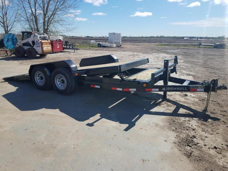 2019 Iron Bull 83 x 18 Tiltbed Equipment Trailer