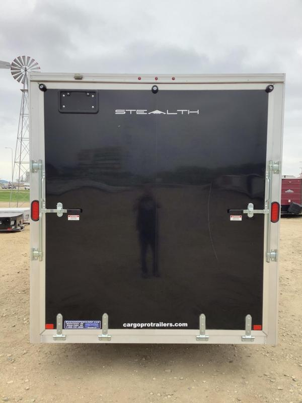2020 Alcom-Stealth 7.5x20 Enclosed Cargo Trailer
