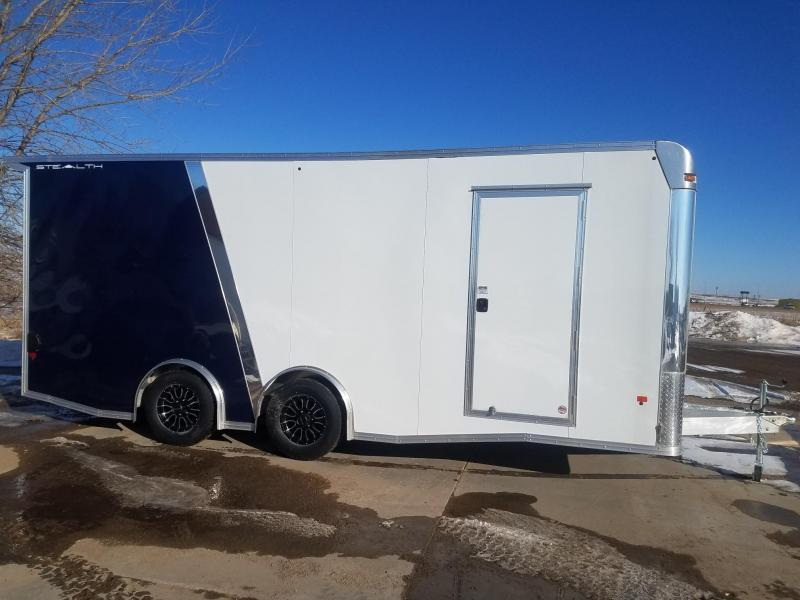 2019 Alcom-Stealth C 8x20 SCH-L Enclosed Cargo Trailer