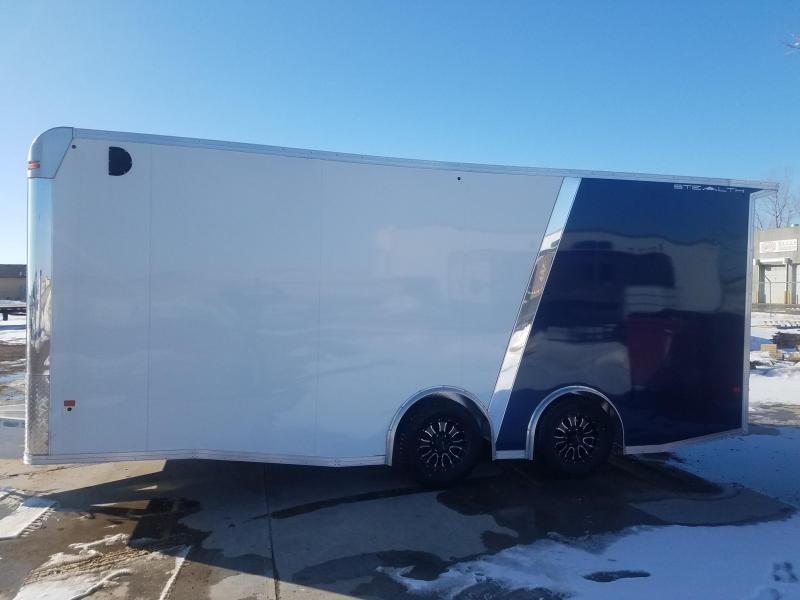 2019 Alcom-Stealth C 8x20 SCH-L Enclosed Cargo Trailer