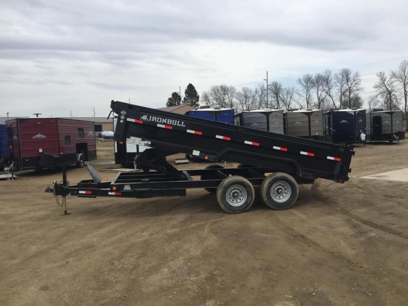 2020 Norstar Ironbull 80x16 Dump Trailer
