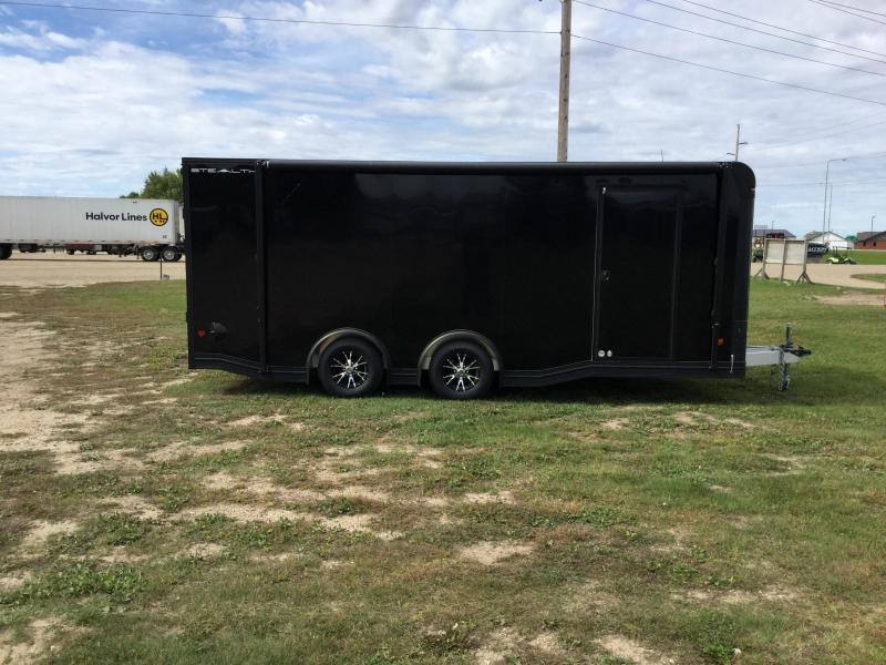 2020 Alcom-Stealth 8.5x20CH Enclosed Cargo Trailer