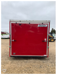 2020 Haulmark 8.5x20 TSV Enclosed Cargo Trailer
